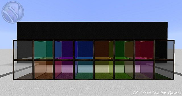 Wolion 128 HD - glass blocks