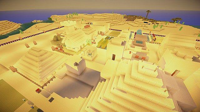 A Desert Settlement