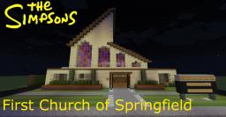 The Simpsons - First Church of Springfield Minecraft Map & Project
