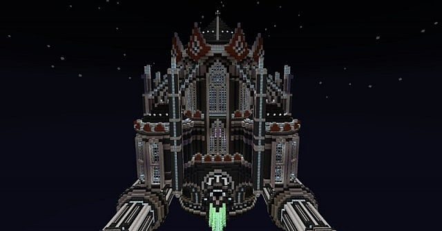 The Manifest Destiny A Gothic Space Cathedral Minecraft