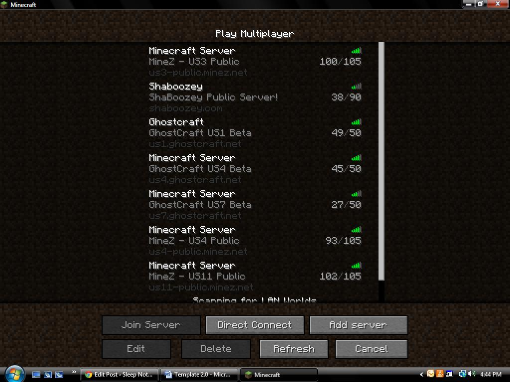 how to create multiplayer server minecraft pc