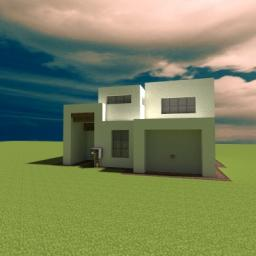 Modern House by FlanModHD Minecraft Map & Project