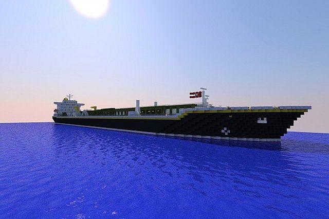 LPG Tanker MV Uranus [Full Interior] + DOWNLOAD Minecraft Map
