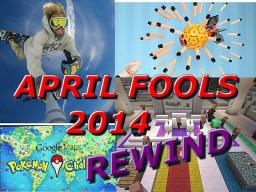 April Fools 2014 REWIND! Best Tricks! Minecraft