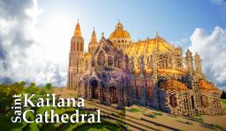 Saint Kailana Cathedral (For Madnes64's Contest) Minecraft Map & Project