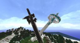 Sword Art Online Swords - Elucidator and Lambent Light Minecraft Map & Project