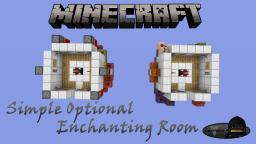 Minecraft: Simple Optional Enchanting Room Minecraft Project