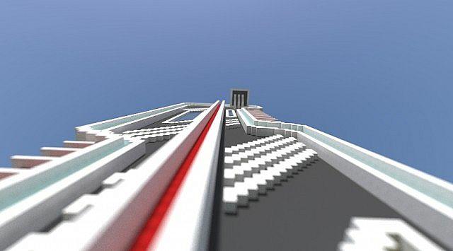 futuristic skyscraper minecraft project