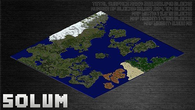 [Map] Solum - огромная карта