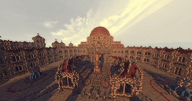 Holy City Of IoniaSpawn Minecraft Project