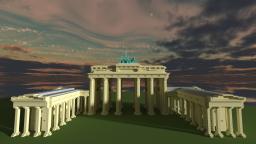 Brandenburger Tor (made by SaftladenInc) Minecraft Map & Project