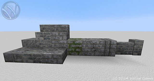 Wolion 128 HD - stone blocks