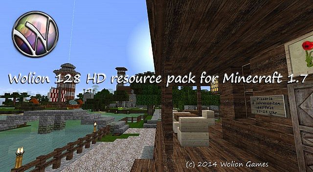 Wolion HD  resource pack