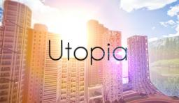 UTOPIA CITY v1 + Overview-Map + NOW DOWNLOADABLE! - NEW WORDL SAVE Minecraft