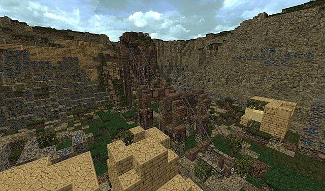 Abandoned Mine Minecraft Project