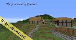 Roweness Medieval Custom Terrain Minecraft Map & Project