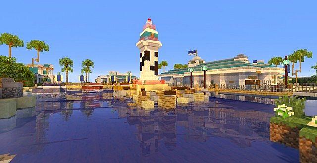 Seaworld Orlando Minecraft Project
