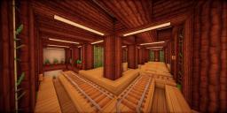 Modern Eco Village | Minecart Station 1 Minecraft Map & Project
