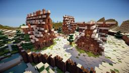 Snow Village + Video + Free Download Minecraft Map & Project