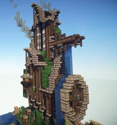No Steam, Nor Punk Tower Minecraft