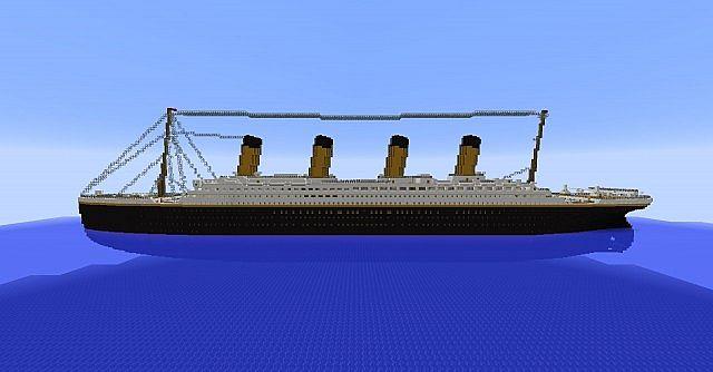 R M S Titanic Minecraft Project