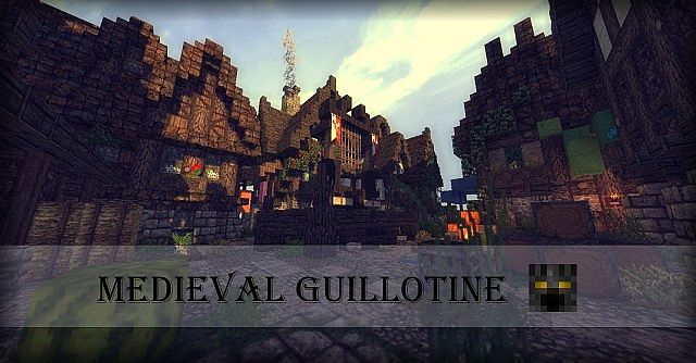 how to build guillotine in minecraft
