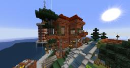 Brick & Clay House Minecraft Project