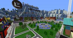 Modern Lobby spawn complex for networks Minecraft Map & Project