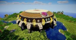 Frieza Ship Minecraft Map & Project
