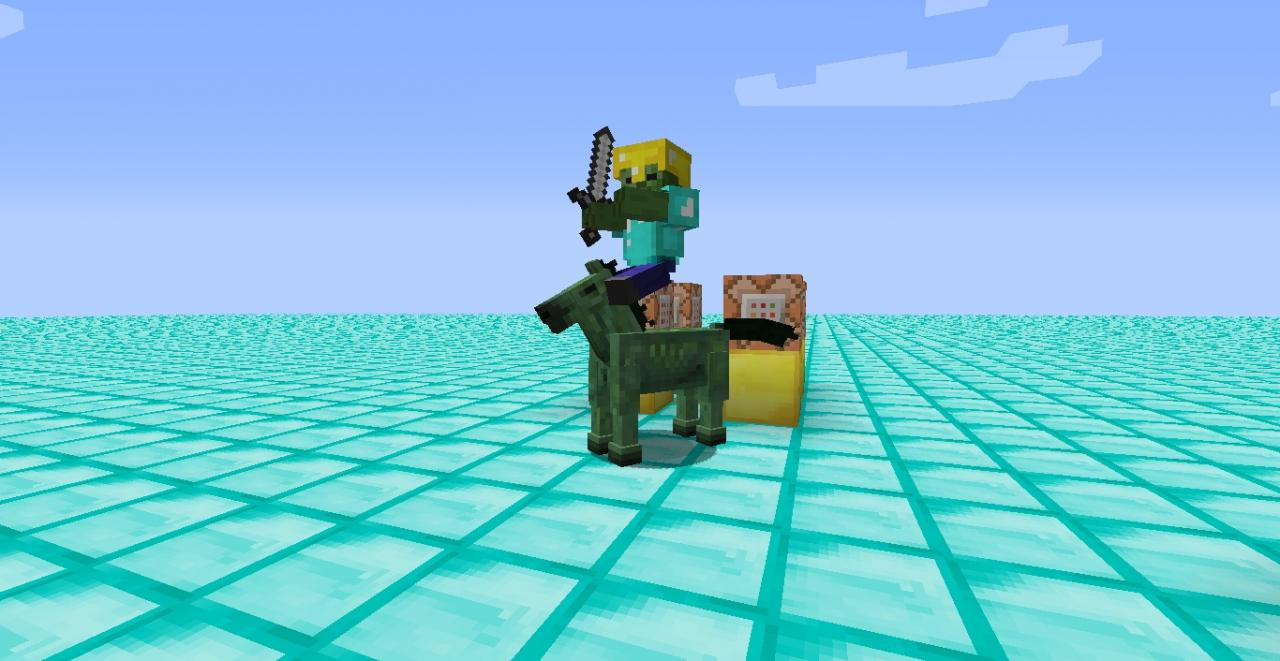 How to make a zombie riding a zombie horse minecraft blog how to make a zombie riding a zombie horse baditri Image collections