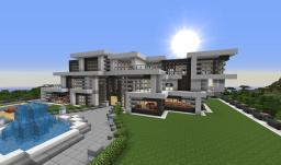 Ultra Modern Villa Minecraft Map & Project