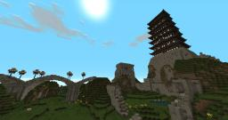 The Great Seven Story Pagoda Minecraft Map & Project