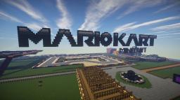 Mario Kart in Minecraft Minecraft
