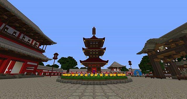 The nether portal pagoda