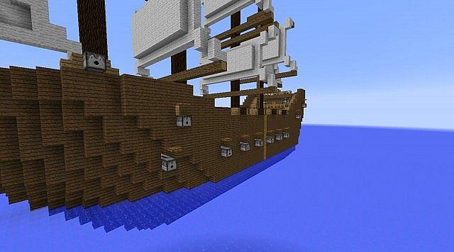 vue de cote de lautre bateau - side view of the other ship