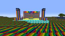 Nyan Cat Parkour Map Resource Pack