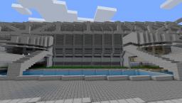 Sci-fi Spaceship Dock Minecraft Map & Project