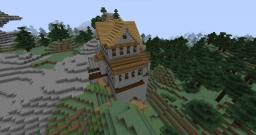 Proudspire-inspired strong house Minecraft Project