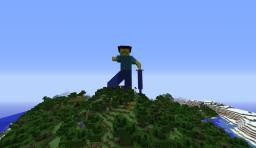 Statue of Herobrine's Dad Minecraft Project