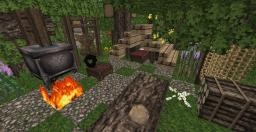 Hunter forest camp Minecraft Map & Project