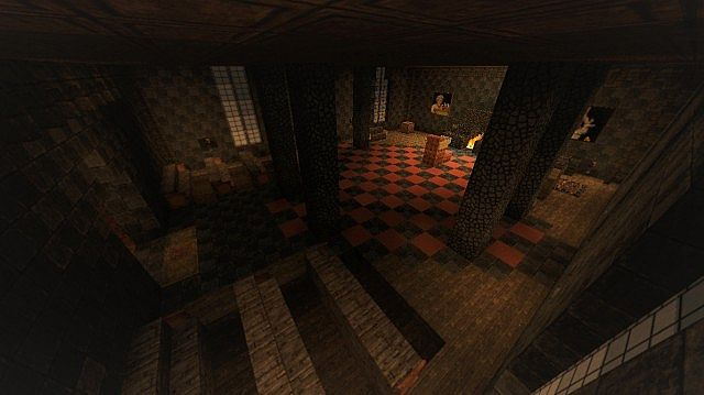 Amnesia Raven Manor A Horror Map 14w30c Minecraft Project