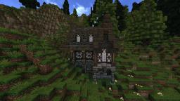 Just a simple medieval house Minecraft