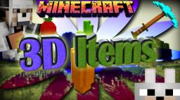 Vanilla 3D Items 1.6.4 Review and Installation Tutorial Minecraft Blog Post