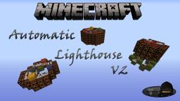 Automatic Lighthouse V2 Minecraft Map & Project