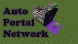 Nether Portal Transport System Inspired by Etho! Minecraft