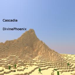 Cascadia Custom Terrain Minecraft Map & Project