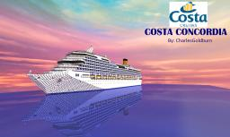 Costa Concordia 1:1 Scale Real Cruise Ship [+Download] Minecraft