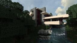 Project Fallingwater 1:1 Scale [WoK] + DOWNLOAD Keralis Showcase Minecraft Project