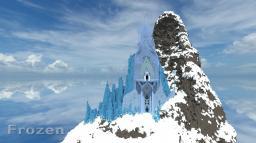 Frozen in minecraft[made by ryuni Minecraft Project