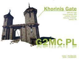 GOTHIC II - KHORINIS FRONT GATE Minecraft